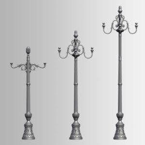 Classic poles
