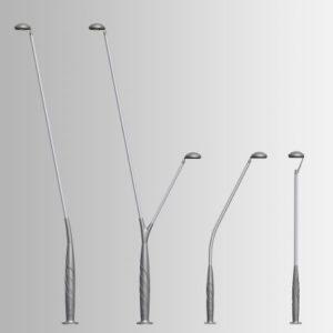 Modern poles